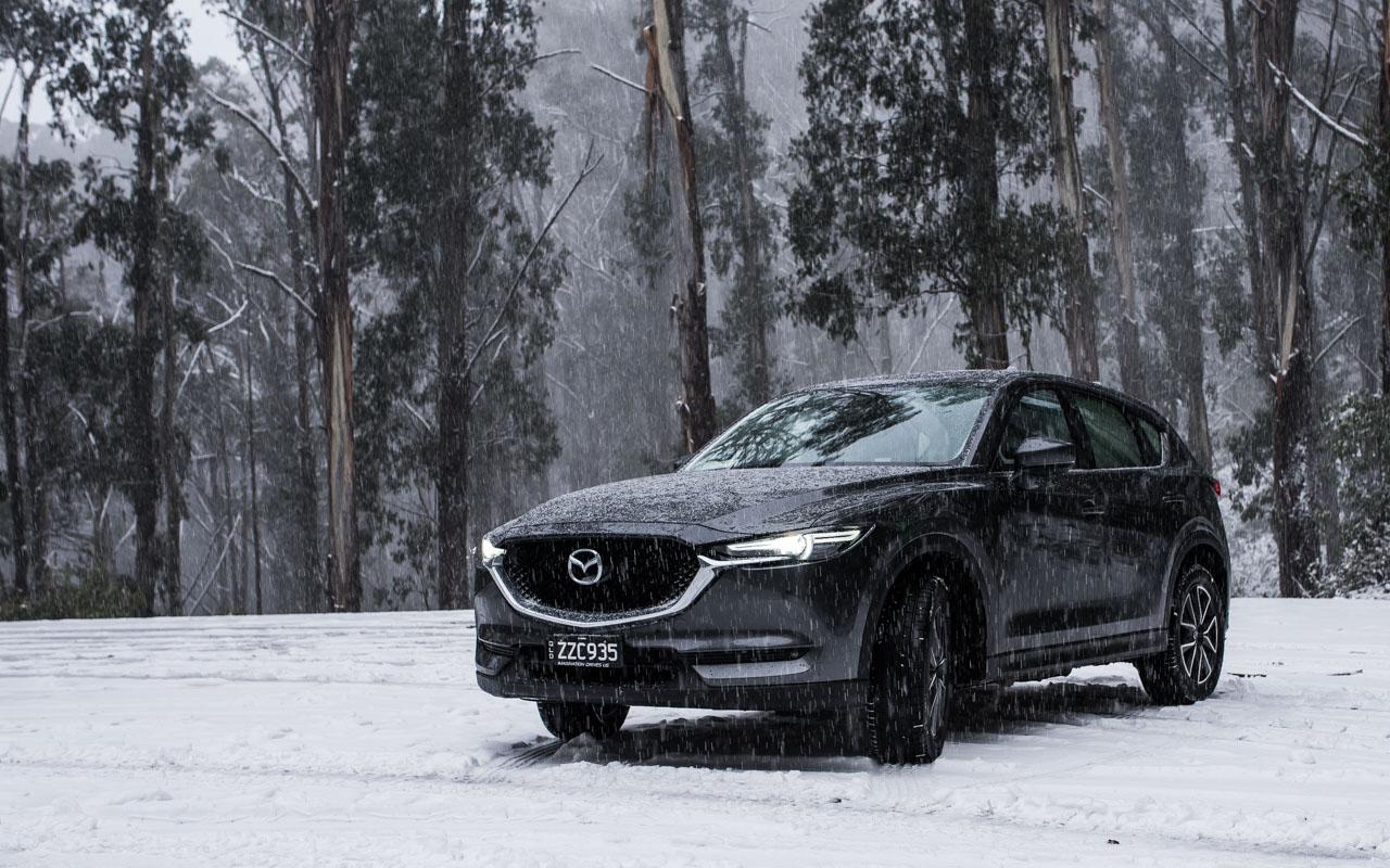 a winter snow escape with the mazda cx-5 feat. alex 'chumpy' pullin